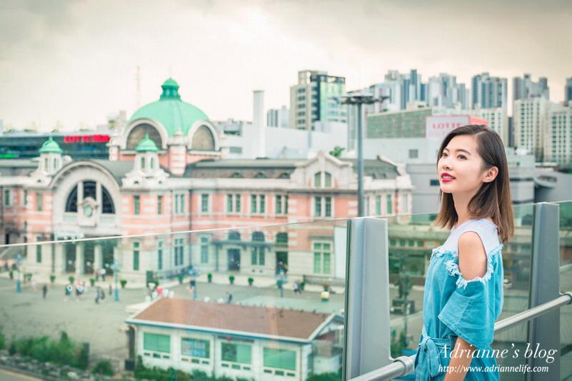 【首爾自由行】(133)首爾站-首爾路7017空中花園步道,俯瞰首爾景色的絕佳位置(內附地圖)