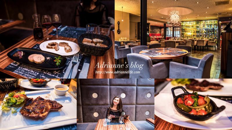 【法國自由行】Day4-2 環境優美餐點又好吃的法式燒烤餐廳 Le Grill,雷恩RENNES餐廳推薦!