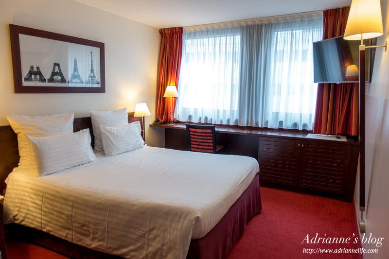 【法國巴黎飯店推薦】天文台區康科德飯店 (Hotel Concorde Montparnasse) 前往聖米歇爾山最佳住宿,離Montparnasse站步行三分鐘!