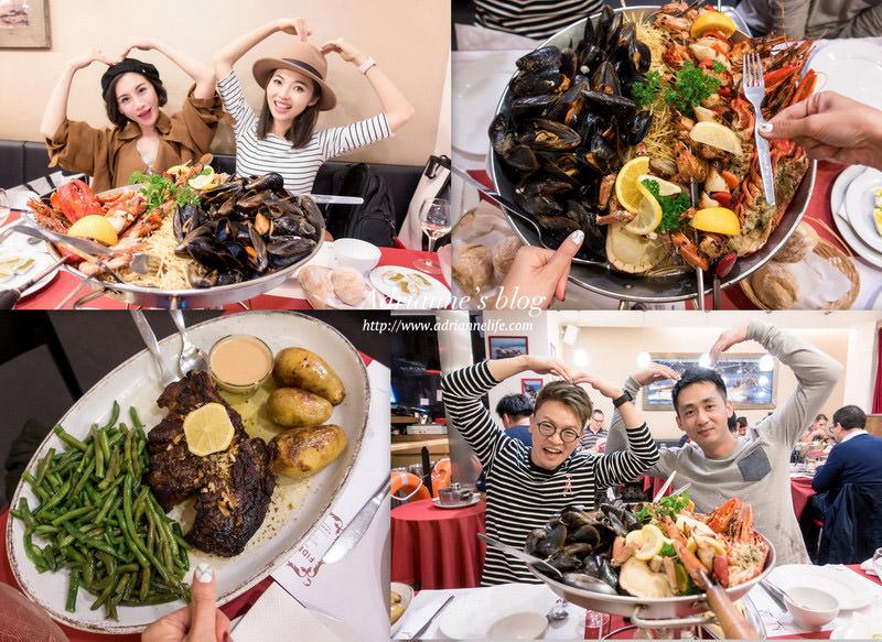 【巴黎自由行】Day2-2 Pedra Alta Champs Elysées來巴黎必吃的高CP值海鮮盤及牛排 (香榭麗舍分店)