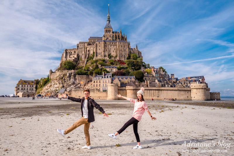 【法國自由行】Day3-1 巴黎(Paris) → 聖米歇爾山(Mont Saint Michel) 火車及巴士完整訂票方法與交通資訊