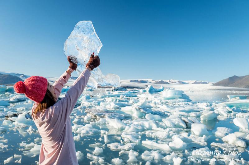 【冰島自由行】Day5-1 黑色瀑布 Svartifoss→ 傑古沙龍冰河湖遊船→ 傑古沙龍冰河湖 Jökulsárlón Glacier Lagoon