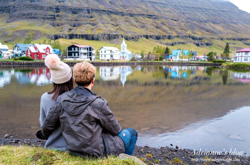 【冰島自由行】Day6-2 電影<白日夢冒險王>的滑板景點 紀念碑 Þorbjörn Arnoddsson  → 塞濟斯菲厄澤 峽灣小鎮 Seyðisfjörður