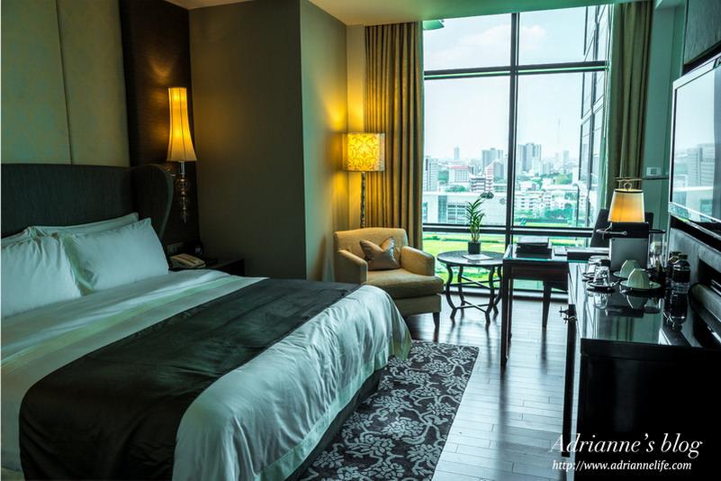 【曼谷住宿推薦】曼谷瑞吉酒店 The St. Regis Bangkok Hotel 豪華客房/地理位置極佳/門口有BTS/鄰近四面佛商圈/24小時管家服務&健身房