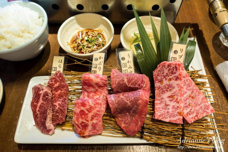 【東京餐廳推薦】上野站-台幣六百就能吃到A5和牛套餐,一頭牛燒肉房家的午間套餐超划算!