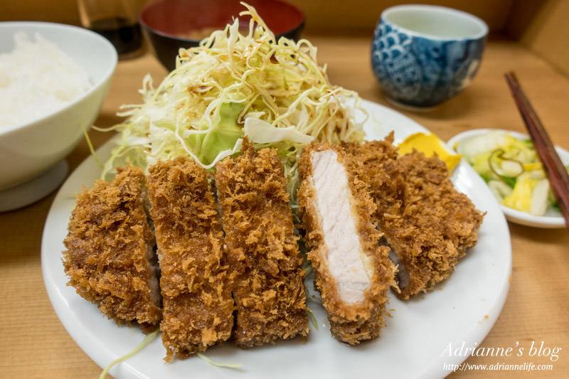 【東京餐廳推薦】上野站-高CP值的好吃豬排飯,とんかつ山家(Pork cutlet Yamabe Okachimachi) 御徒町店