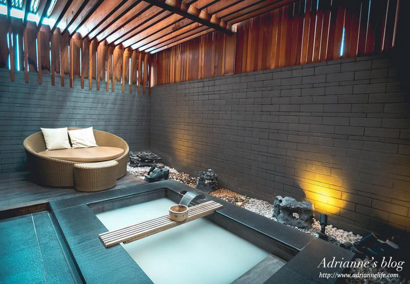【北投溫泉推薦】北投麗禧溫泉酒店Grand View Resort Beitou,舒適寬敞的獨立半露天柚香湯屋!