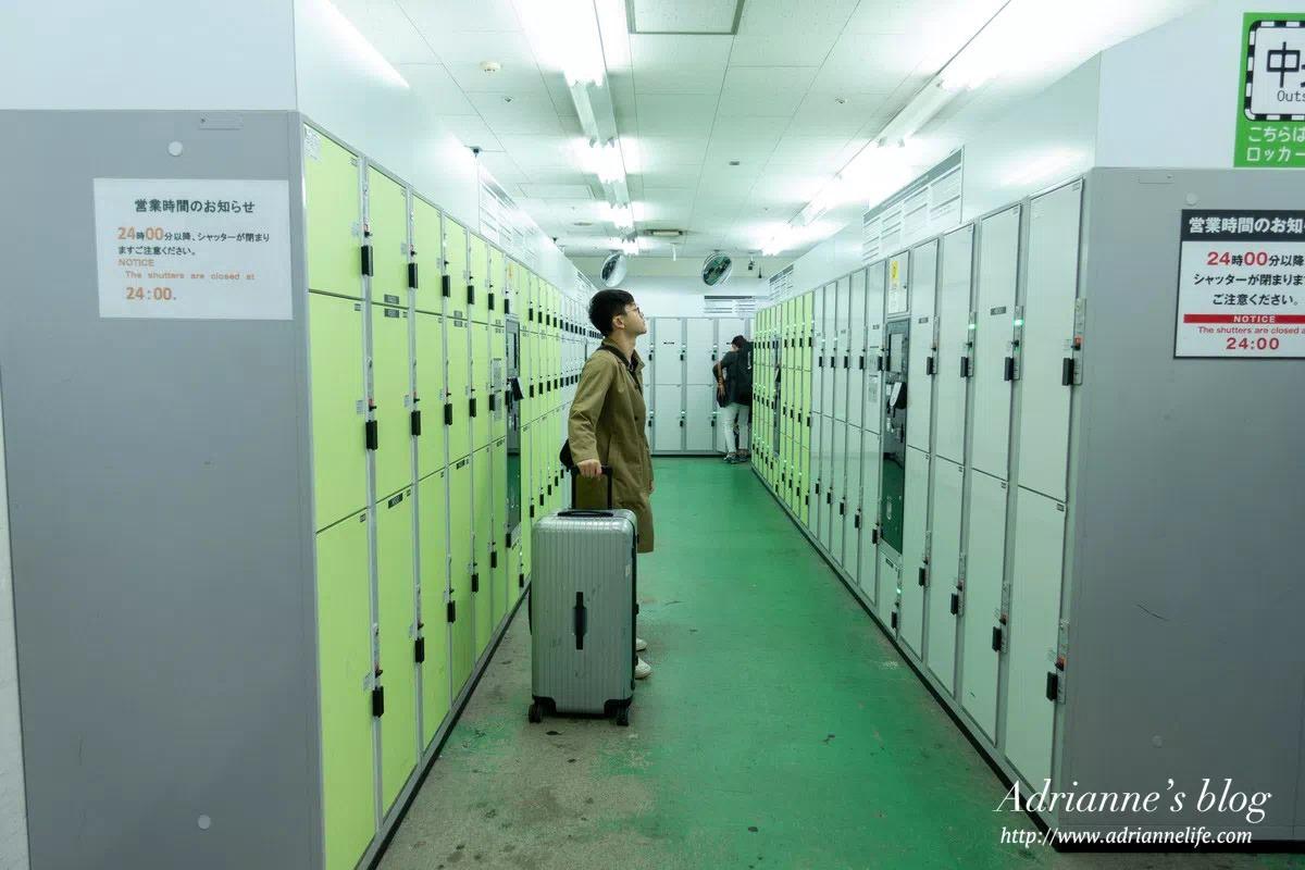 【東京自由行】去東京近郊行李怎麼辦?JR上野車站行李寄放攻略,最大的置物櫃連胖胖箱也可以放!