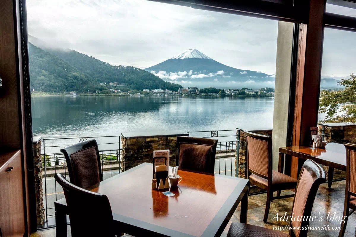 【河口湖住宿推薦】風之露台KUKUNA 一泊二食,早餐晚餐超豐盛,還能邊吃邊看富士山!