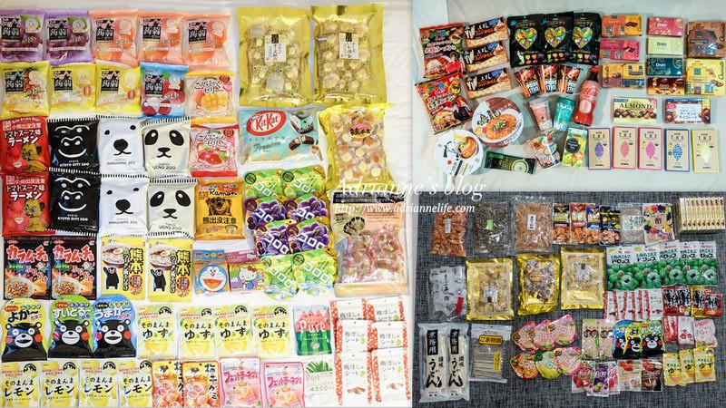 【2019日本必買】日本戰利品必買 35款零食(軟糖/巧克力/梅片/果凍/餅乾)/10款泡麵/4款伴手禮 累積無數次的日本零食戰利品總整理篇(內有BIC CAMERA 8+7%優惠券)
