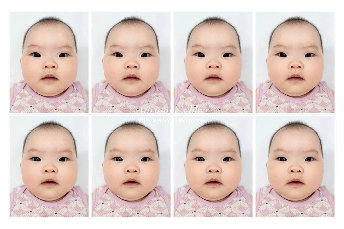 【親子旅遊】第一次拍嬰兒大頭照就上手!嬰兒護照/嬰兒健保卡通通都適用!(內有PhotoCap 6.0 步驟教學)