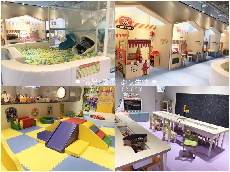 【親子景點】桃園華泰名品城(GLORIA OUTLETS)饅頭家族主題樂園,適合0-10歲的付費親子體能館!