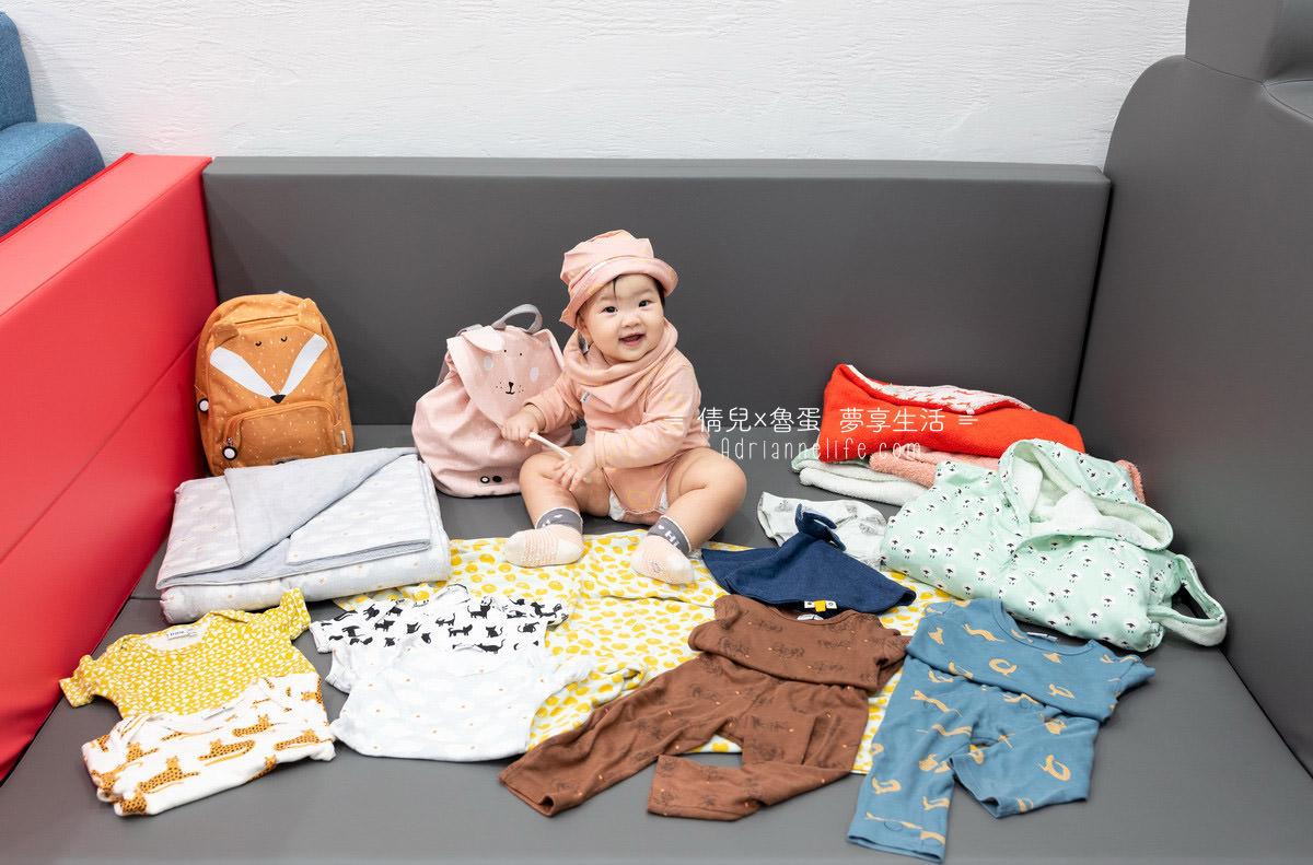 【開團】秋冬新品首團!比利時Trixie有機棉 寶寶衣物/浴巾/斗篷/床圍/被毯/推車墊(至12/17 23:59止)