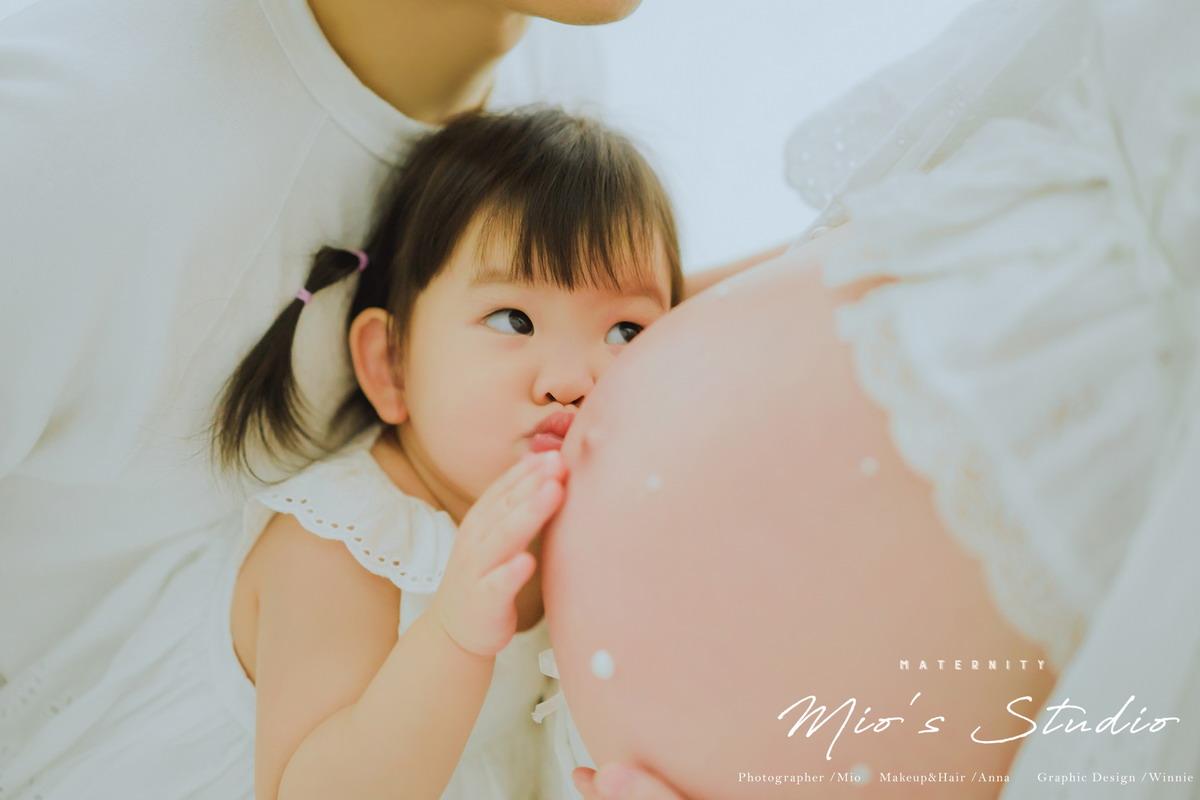 【二寶30W孕婦寫真】 時尚/甜美/復古/歐美四種風格一次擁有,只有Mio's Studio才能超越Mio's Studio(內含禮服/攝影棚/攝影師/造型師/花絮/成品/毛片)