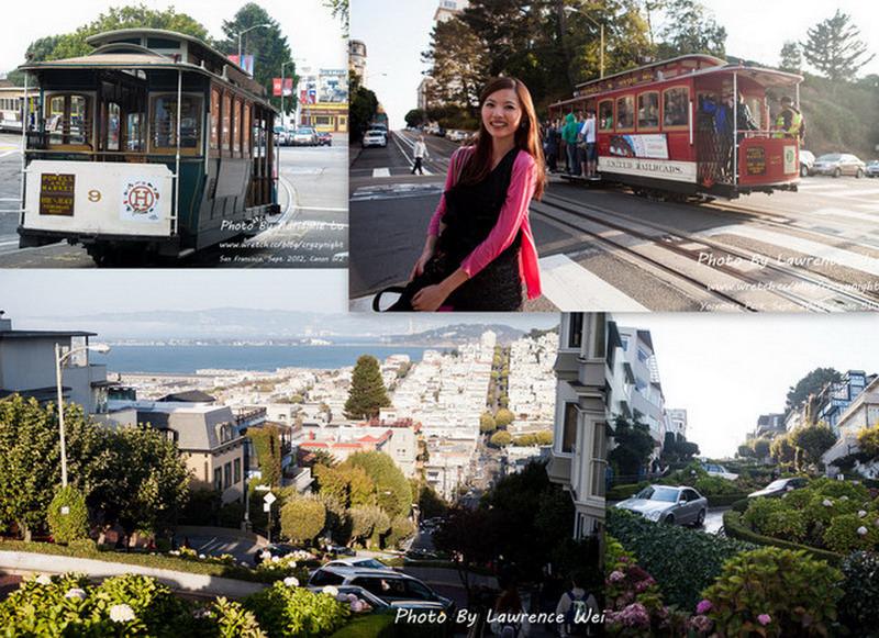 【舊金山】Day14-2 世界上最彎曲的街道九曲花街 → 最有名的交通工具叮噹車 Cable Car