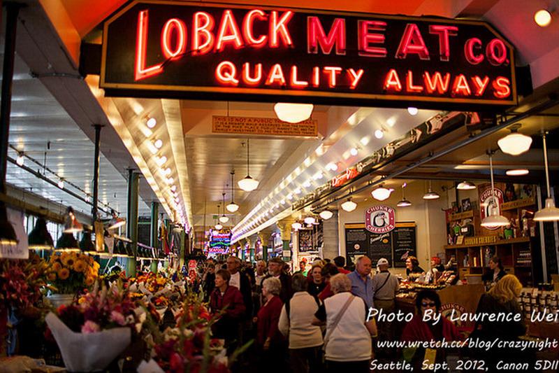 【西雅圖 ♥ 夜未眠】Day2-1 派克市場 (Pike Street Market) → 西雅圖票選最好吃的Lowell's 早午餐