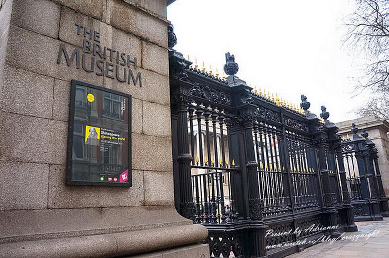 【英國UK ♥ 英格蘭倫敦】Day16-1 去倫敦沒逛過大英博物館(British Museum)就遜掉啦!