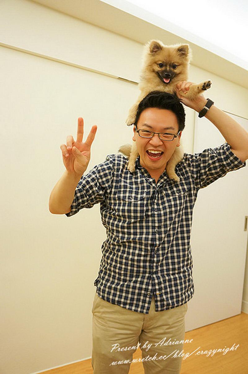【Happy月記】201205 Happy可以出門見客囉! (認養第4個月)