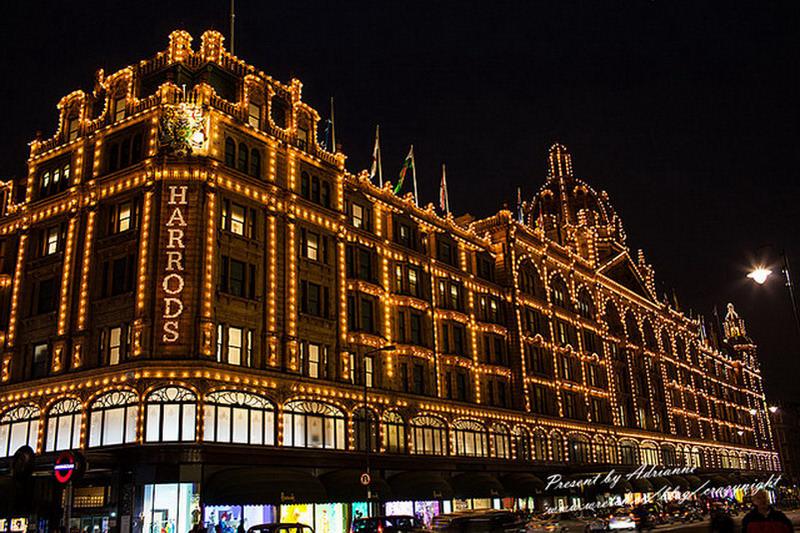 【英國UK ♥ 英格蘭倫敦】Day15-3 去倫敦必逛的貴族百貨 ─ 哈沃斯百貨Harrods → 晚餐Garfunkel's Restaurant