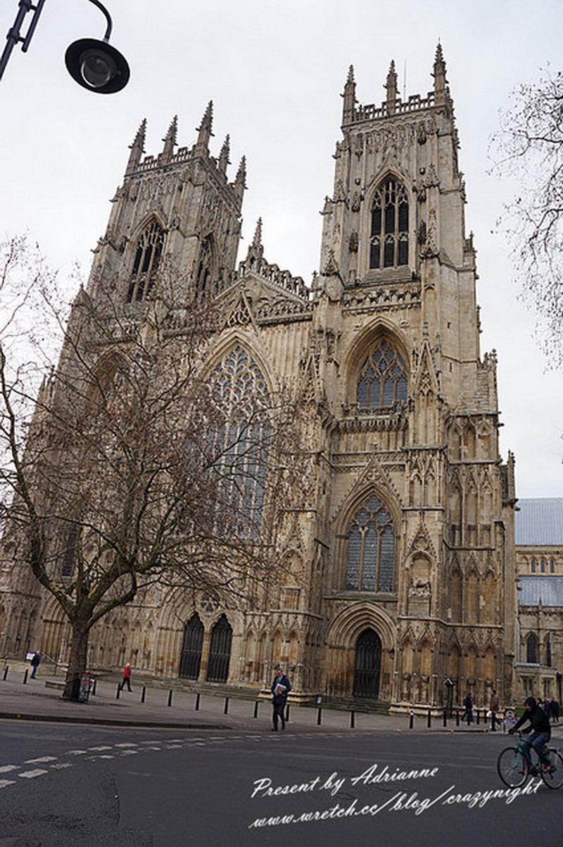 【英國UK ♥ 英格蘭約克】Day8-3 約克大教堂 ( York Minster )