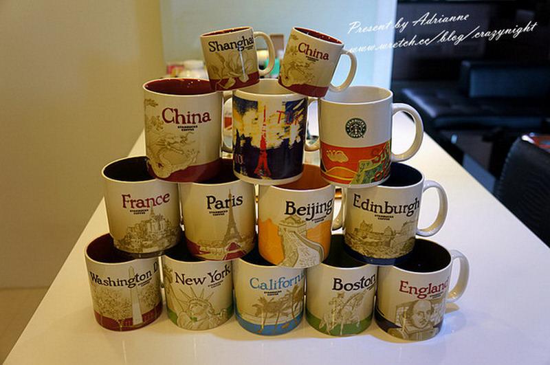 【收藏】到每個城市都可以收集當時的回憶─ 星巴克城市杯(Starbucks city mug)