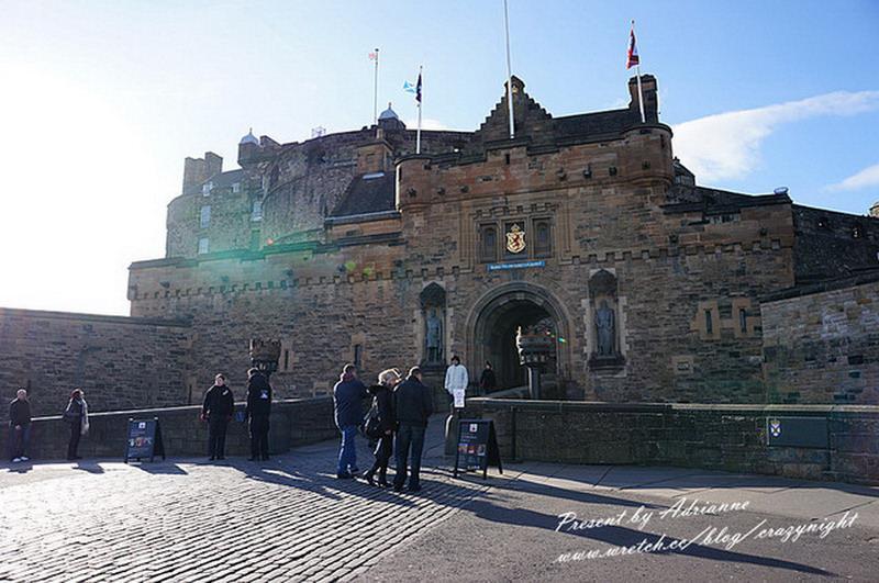 【英國UK ♥ 蘇格蘭愛丁堡】Day6-1 愛丁堡城堡(Edinburgh Castle)