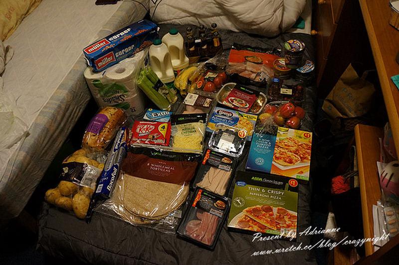 【英國UK ♥ 蘇格蘭愛丁堡】Day5 來英國不囤保養品改囤食物 ─ ASDA大採買