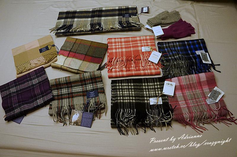 【英國必買】保暖又舒適 ─ 100% cashmere 配件 (手套/ 圍巾/ 披巾)