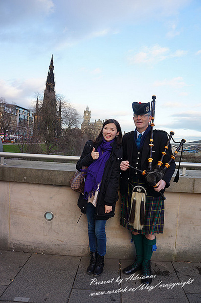 【英國UK ♥ 蘇格蘭愛丁堡】Day2  Heriot-Watt University → 王子街 (Princes Street) → 史考特紀念碑塔 (Scott Monument)