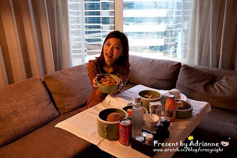 【香港 ♥ 金鐘】Day 4 奕居room service悠閒午餐 → 台北