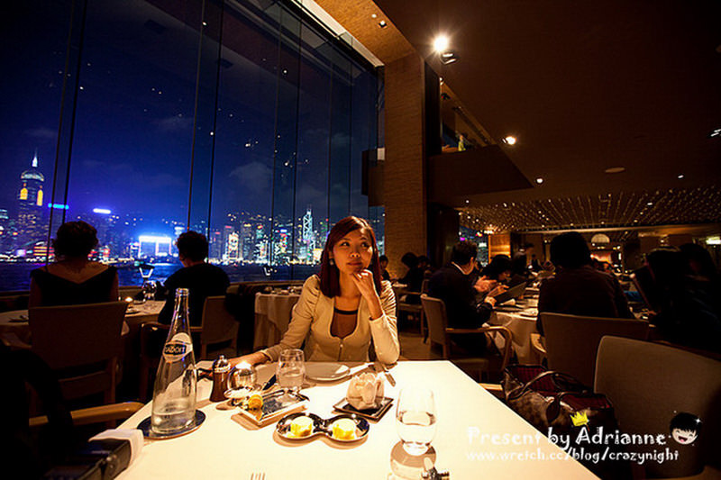 【香港 ♥ 尖東】Day 1-5 夢幻夜景米其林二星餐廳 ─ SPOON by Alain Ducasse