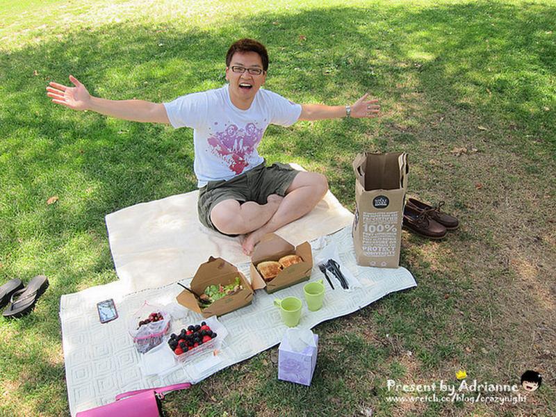 【圓夢♥美國】Day23  到處都可以席地而坐的小野餐