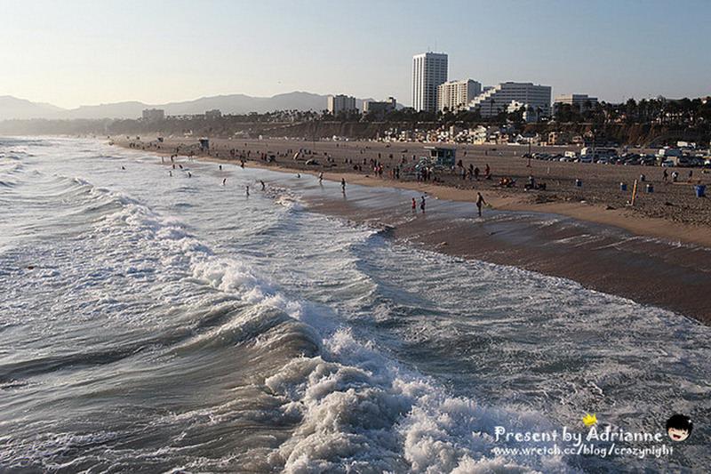 【圓夢♥美國】Day21 悠閒自在Santa Monica Beach