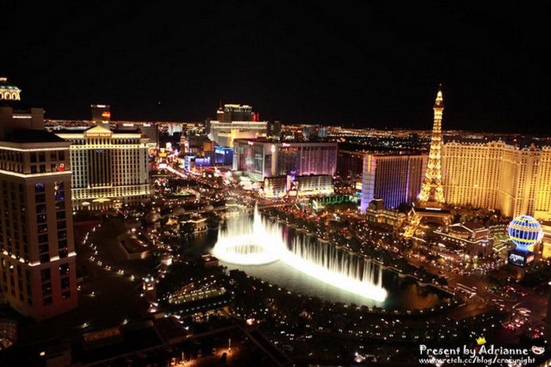 【圓夢♥美國】Day8-2 拉斯維加斯飯店推薦!The Cosmopolitan of Las Vegas (5*),房間陽台就可以看到Bellagio水舞表演!