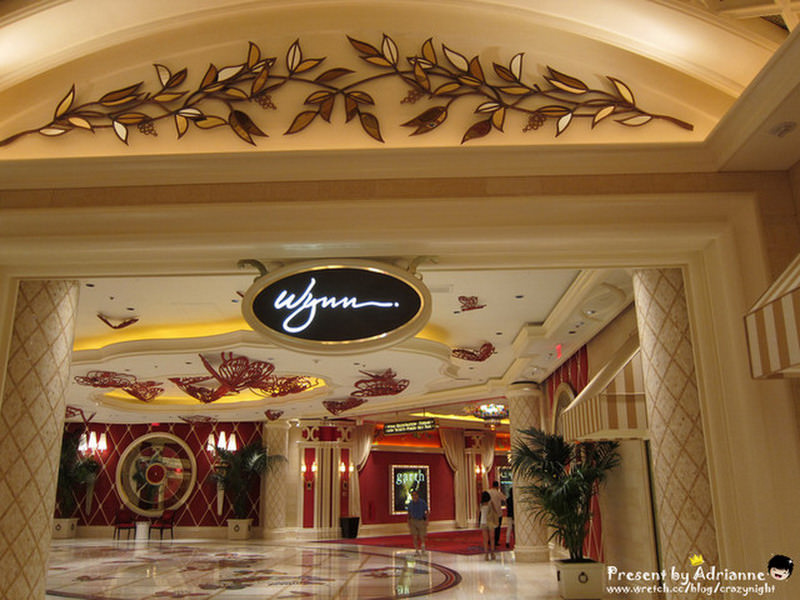 【圓夢♥美國】Day7-3 Encore Resort→ Wynn Hotel Las Vegas Resort 內部設施
