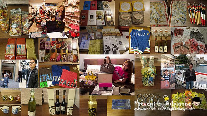 【義大利必買】來義大利一定要大買特買!精品區 / 衣服區 / 當地特色小物 / 食物區 / 蕾莉歐 戰利品分享!