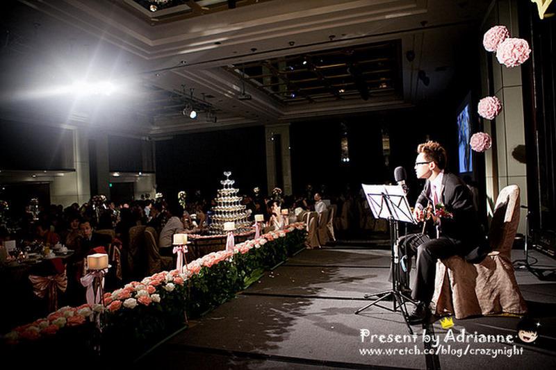 【喜喜】結婚 ♥ 宴客 (中) 表演、捧花、敬酒