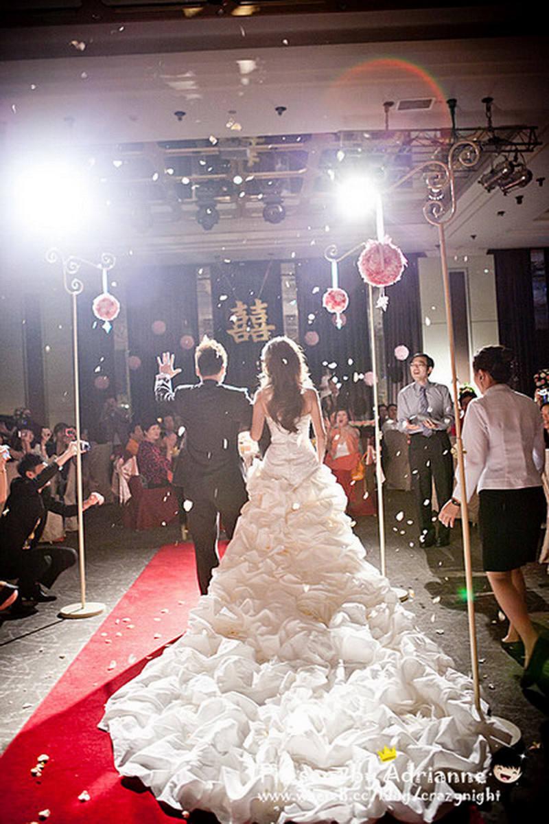 【喜喜】結婚 ♥ 宴客(上) 準備、迎賓、進場