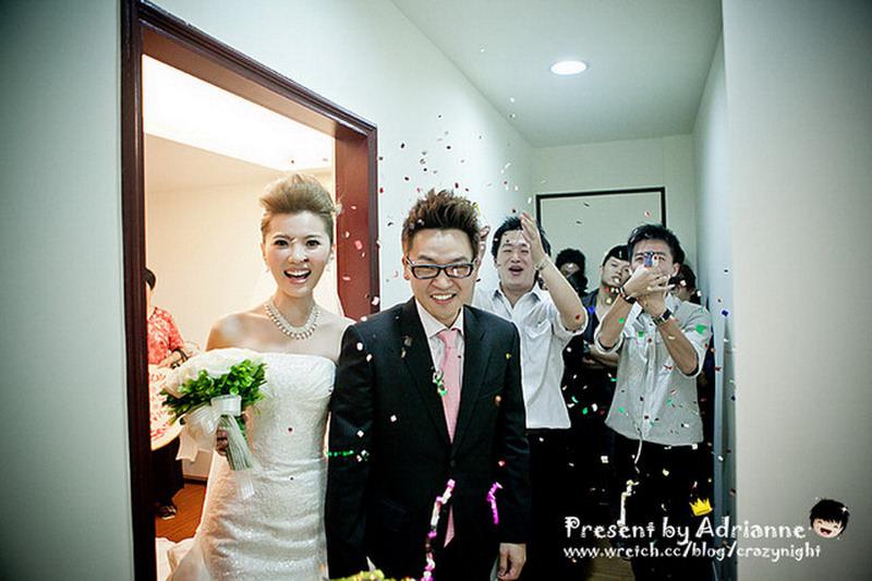 【喜喜】結婚 ♥ 迎娶 (上)