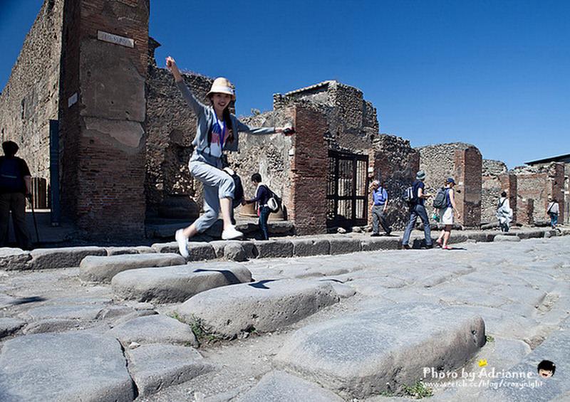 【玩在義大利】 Day10-1  卡布里島  → 龐貝古城 → 羅馬