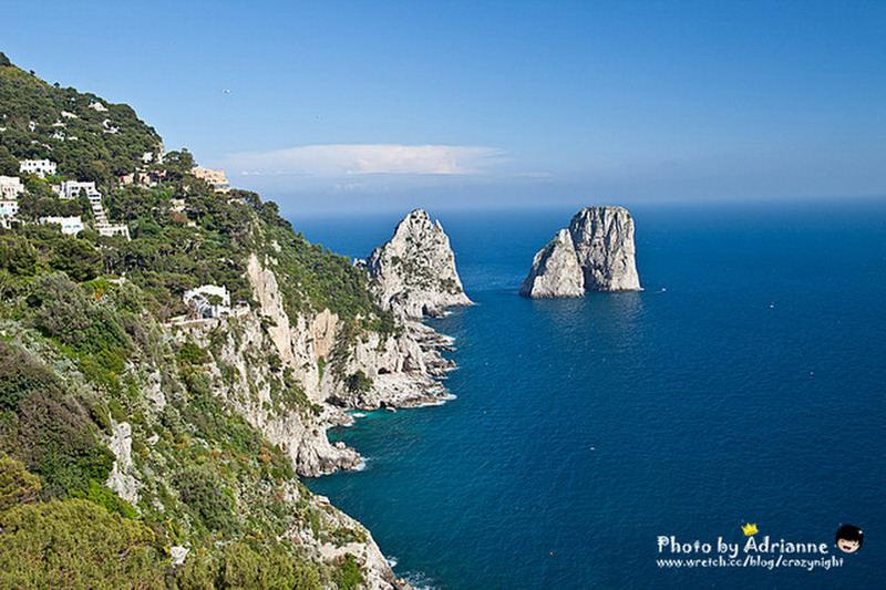 【玩在義大利】 Day9-1  拿坡里→ 阿瑪菲海岸 → 蘇連多 →卡布里島