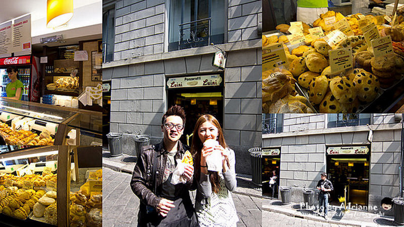 【吃在義大利】Day8-3 午:自理 → 晚:飯店主廚推薦料理 → 消夜:拿坡里pizza