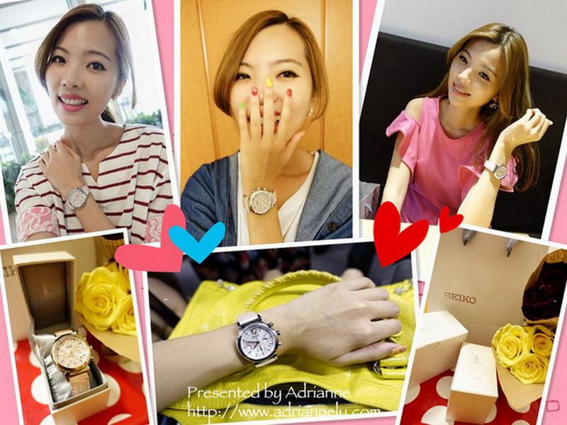 【配件】台灣精工錶 SEIKO LUKIA 時尚的百搭錶款開箱囉!