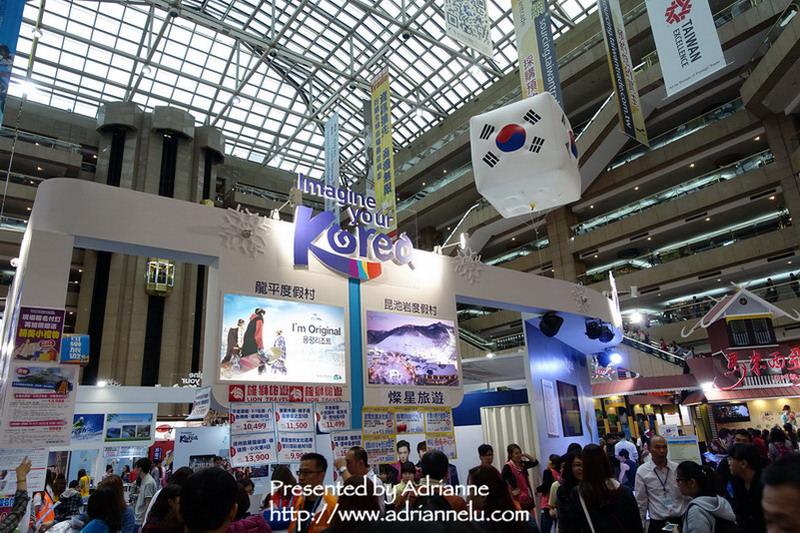 【2014ITF台北國際旅展】旅展搶先報!旅展現場狀況&部分攤位優惠及表演!