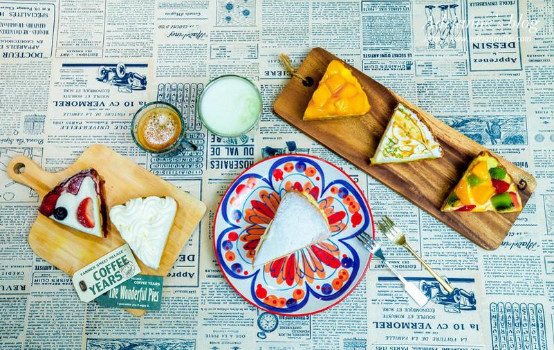 【甜點】台北亞尼克夢想村微風廣場店,繽紛美味的美式派塔買5送1獨家限定中!