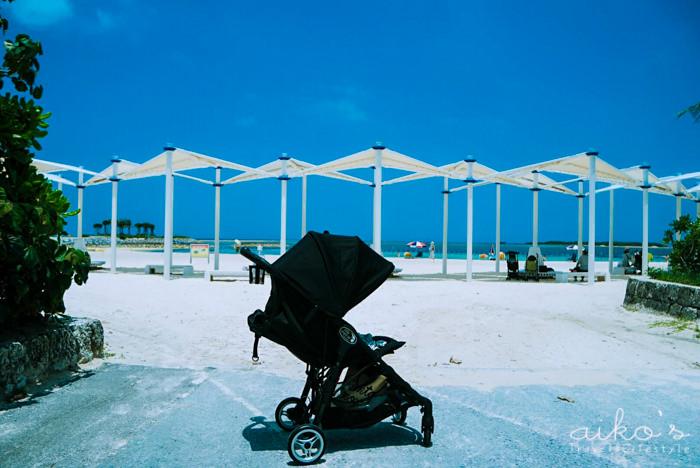【日本沖繩】三個多月寶寶第一次出國行李打包清單、搭機注意事項、可上機baby Jogger City Mini