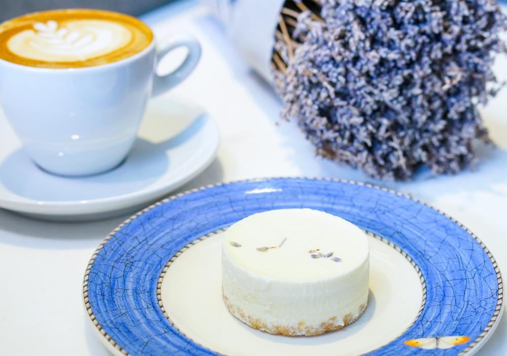 [台南]L'esprit café初衷咖啡-北海道薰衣草乳酪X一保堂舒芙里 來個安靜閒適下午茶 台南咖啡店推薦