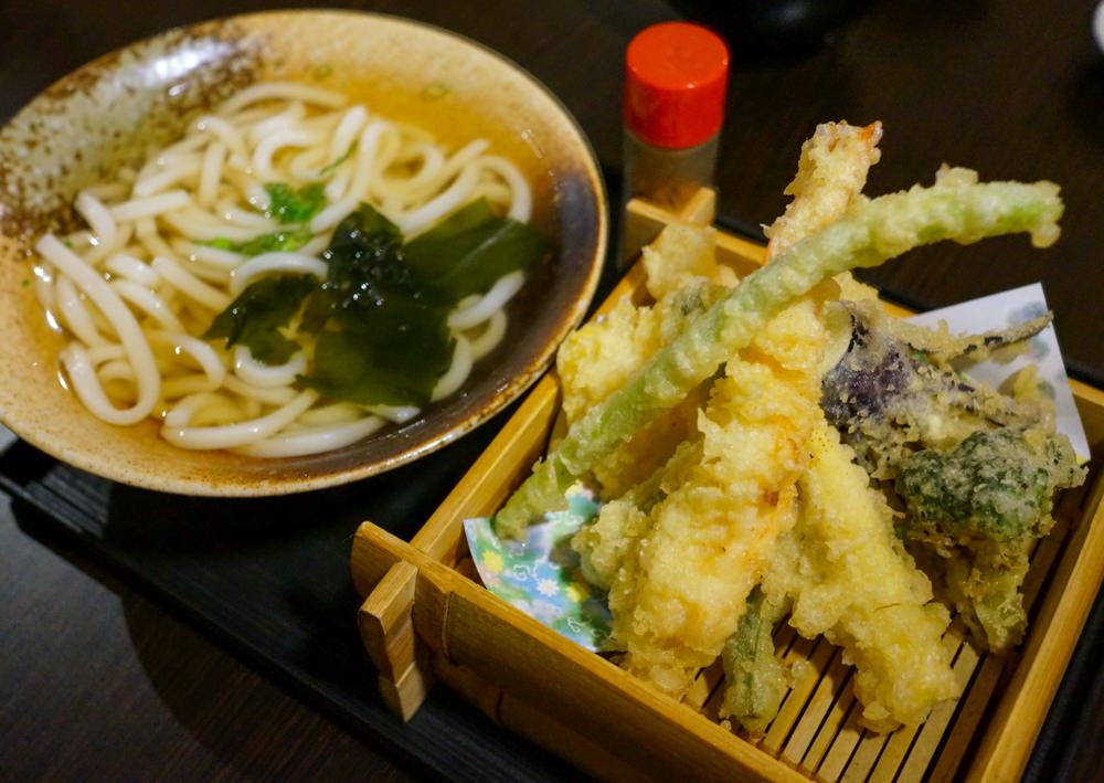 [高雄]旭日料理-日本師傅好手藝!一碗入魂天婦羅烏龍麵