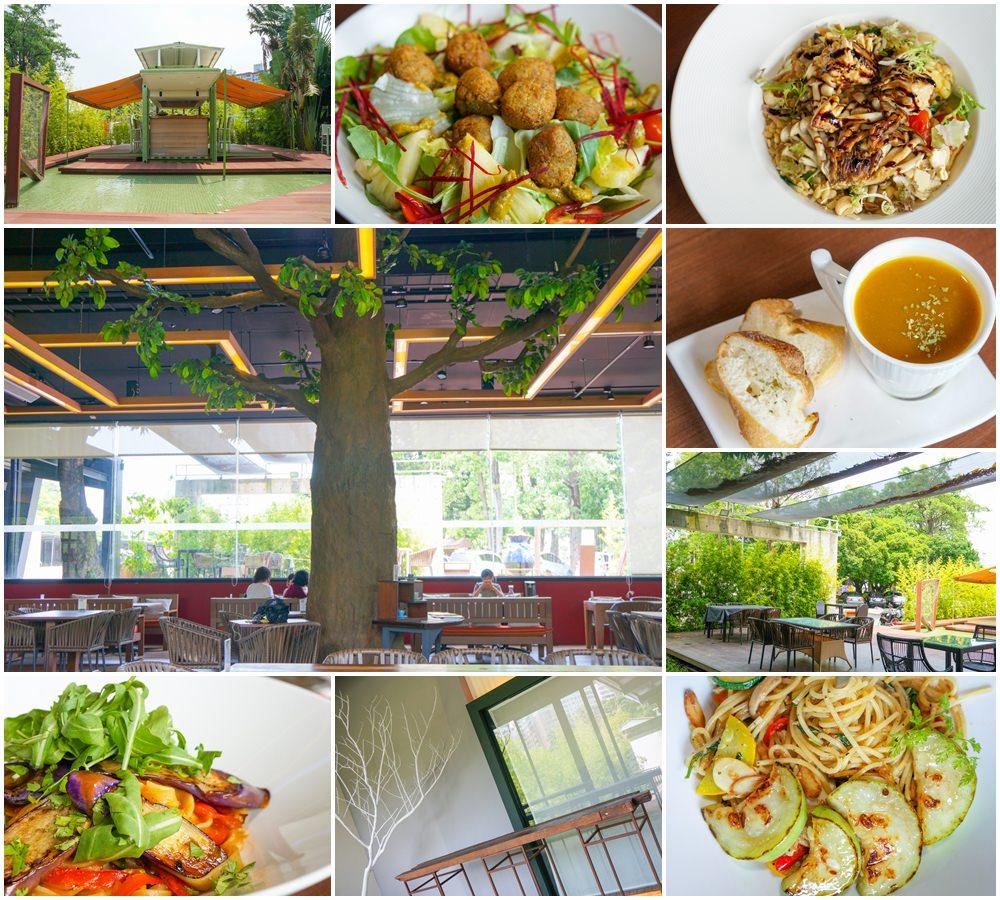 [高雄]左創‧ 食不二-超獨特樹屋餐廳!? 舒適空間享蔬食 人文氣息濃厚 左營美食推薦