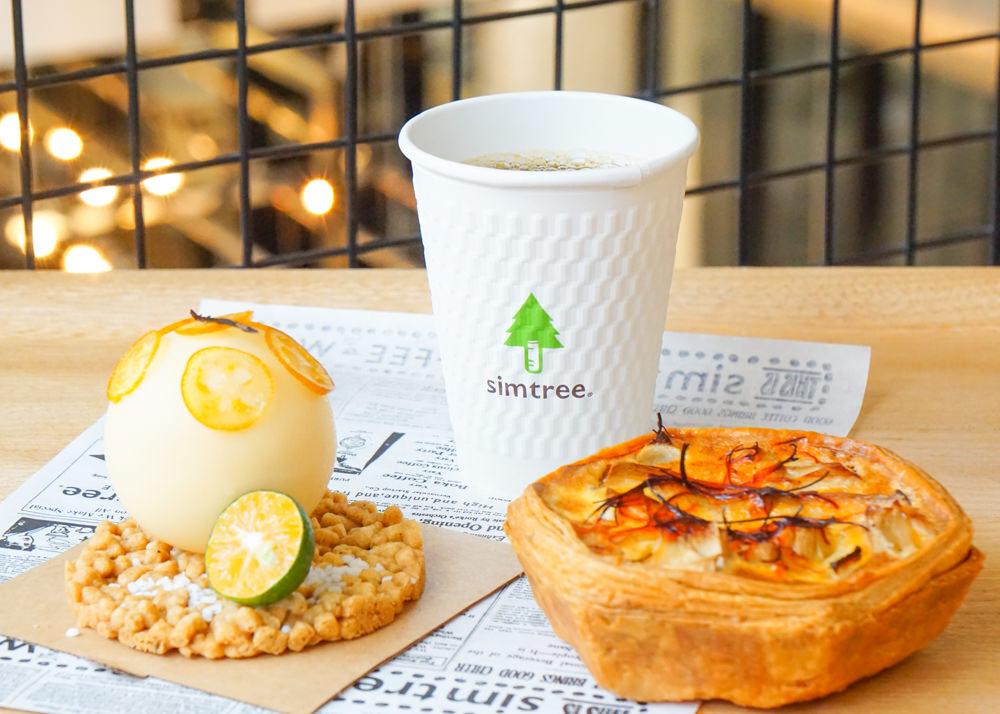 [高雄]興趣 x simtree-超高C/P值設計感咖啡店! 好吃麵包鹹派X自家烘焙咖啡 科學灌溉食物 高雄咖啡店推薦